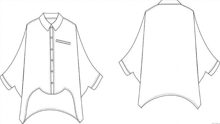 休闲衬衣-女装设计-服装设计