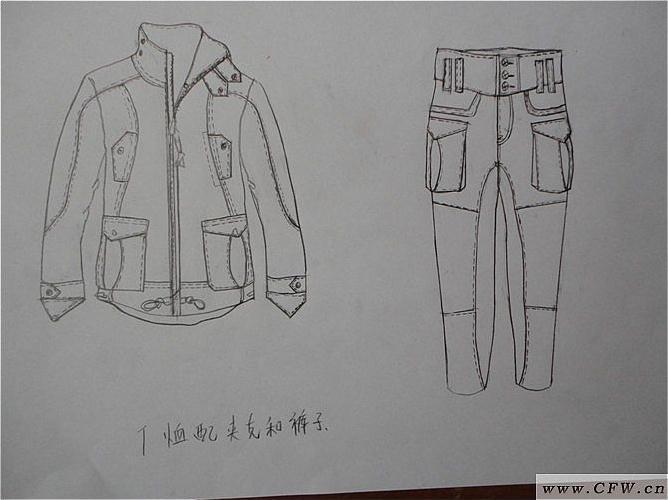 男西装搭配设计-男装设计-服装设计