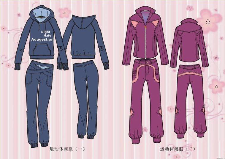coreldraw电脑制图-女装设计-服装设计