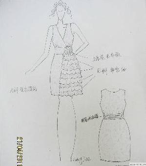 礼服图案-婚纱礼服设计-服装设计-服装设计网手机版