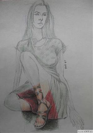 线描速写-女装设计-服装设计-服装设计网手机版|触屏版