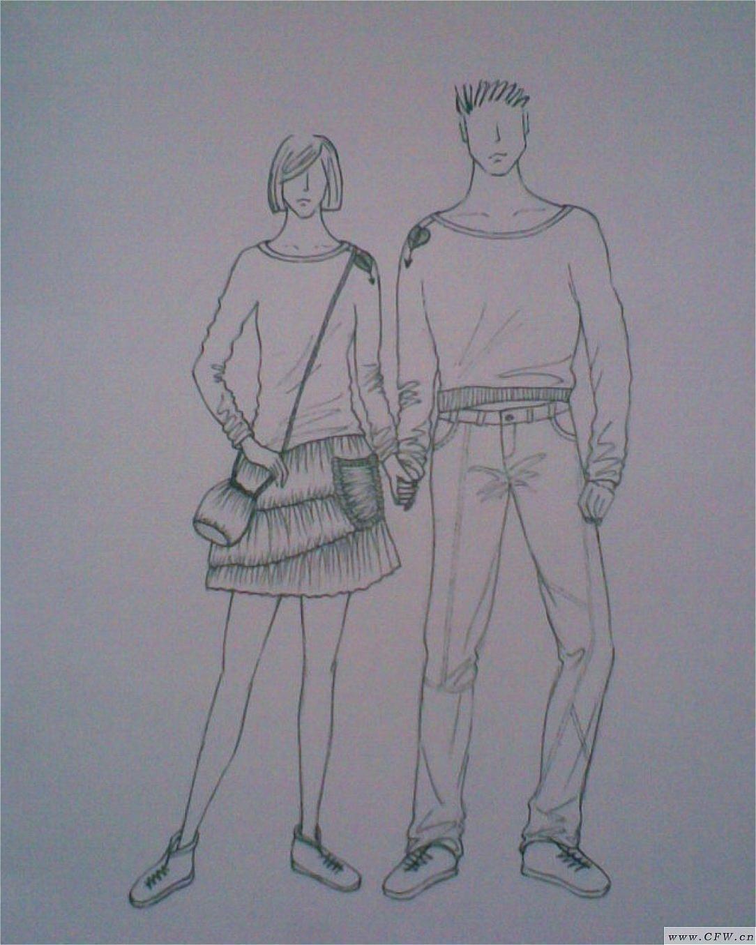 情侣装-男装设计-服装设计