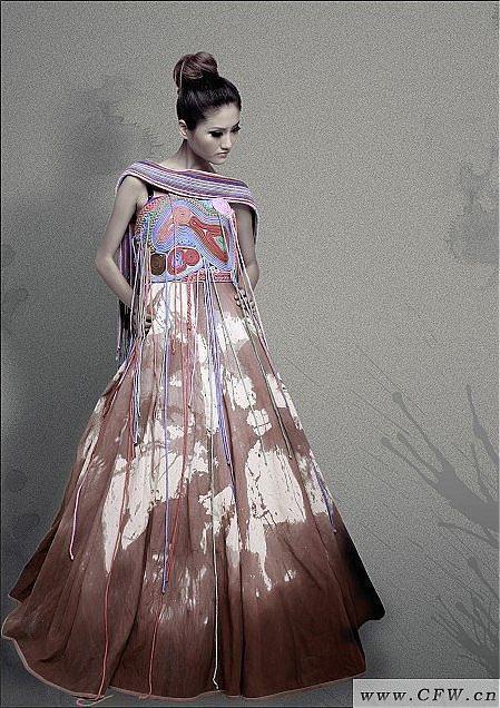 毕业设计-婚纱礼服设计-服装设计