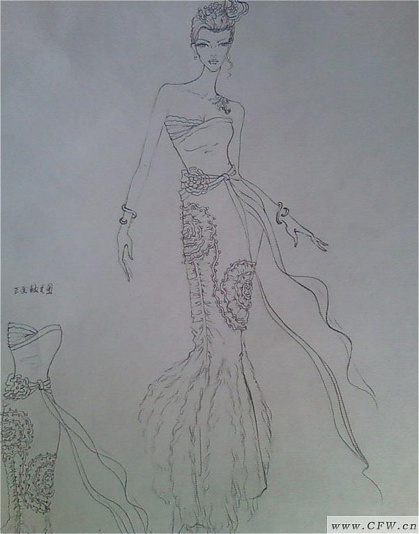 我的服装画