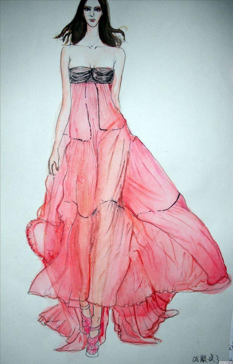 女装时尚休闲-女装设计-服装设计