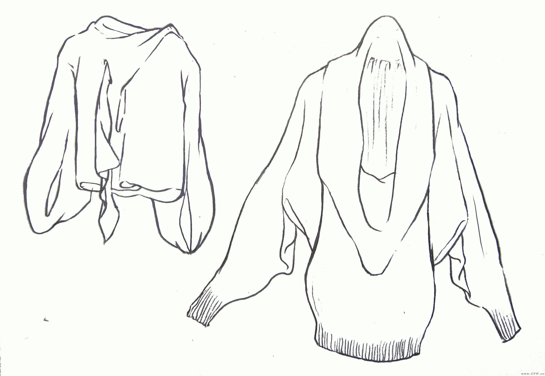 女装款式图