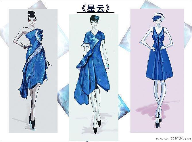 裙子系列设计-女装设计-服装设计