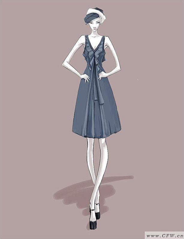 裙子系列设计