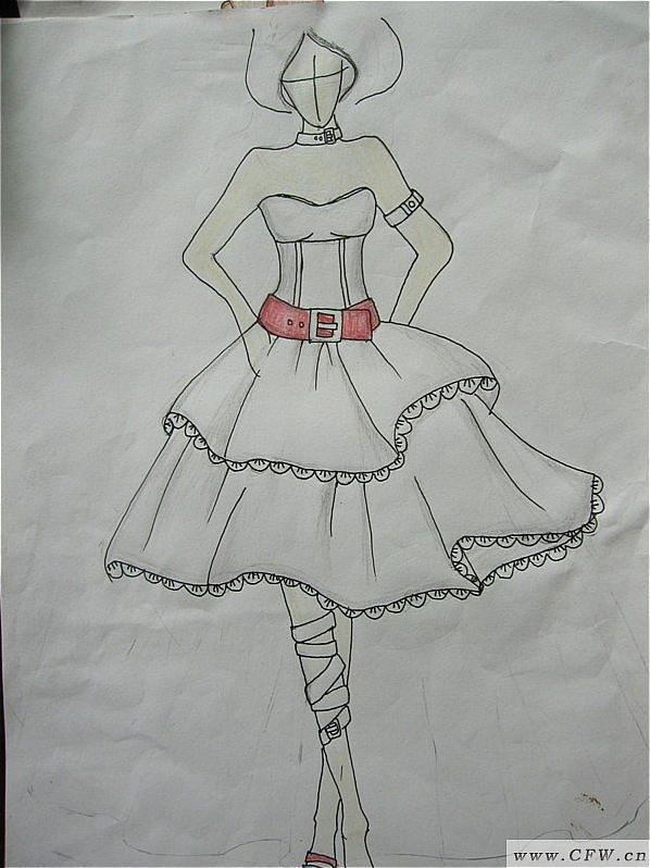 可爱-婚纱礼服设计-服装设计