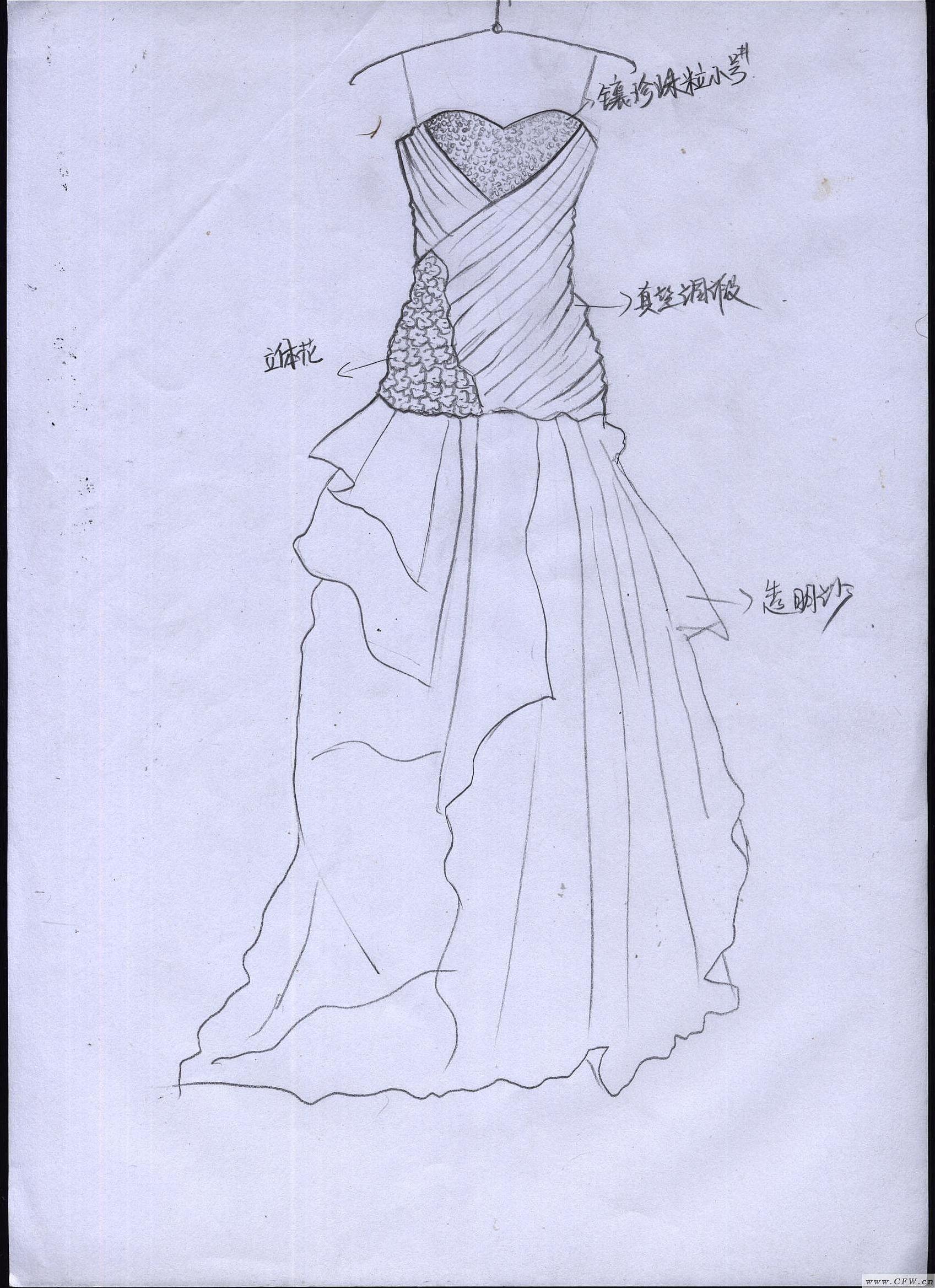 婚纱设计款式