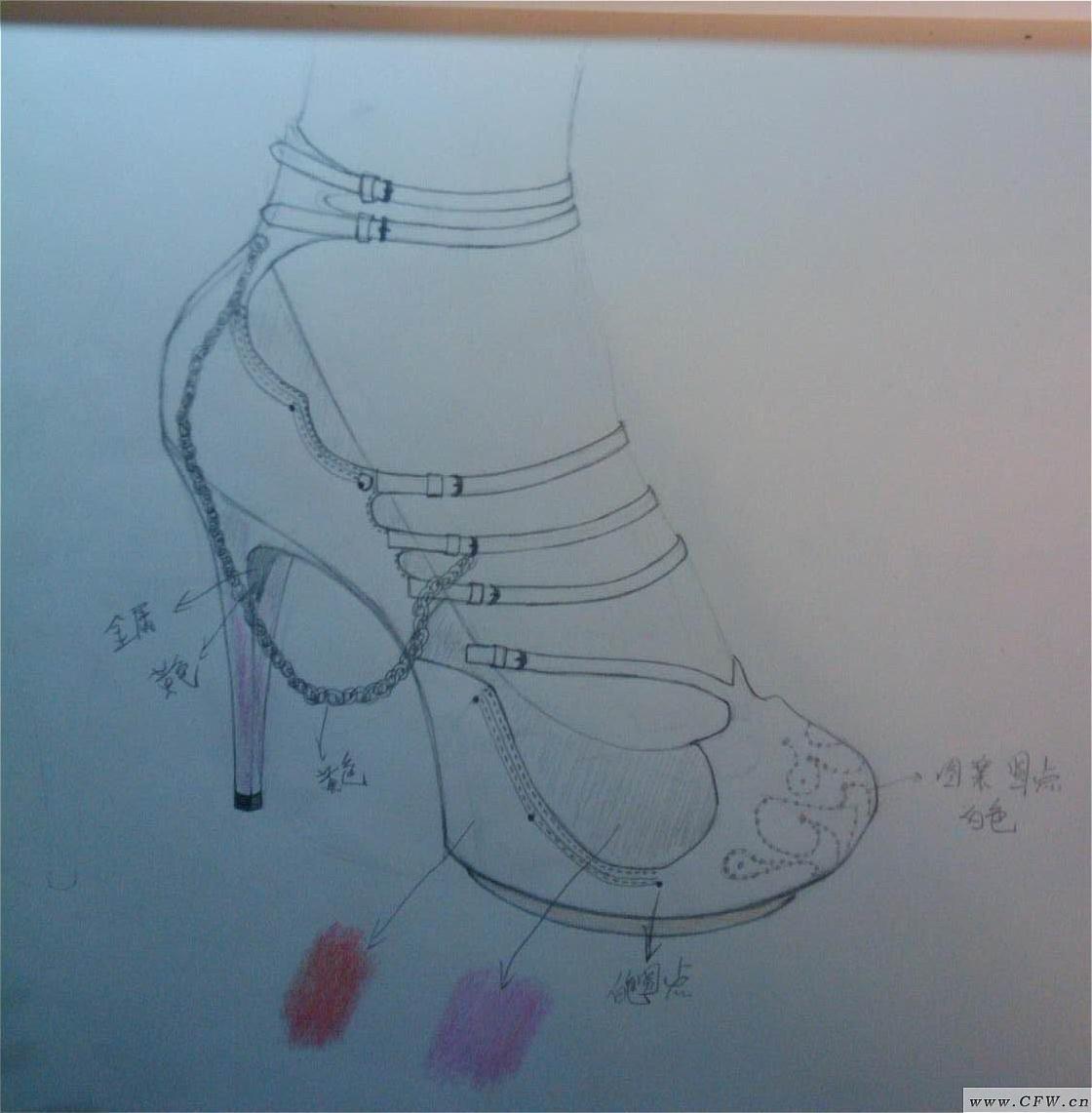 鞋子-其它设计设计-服装设计