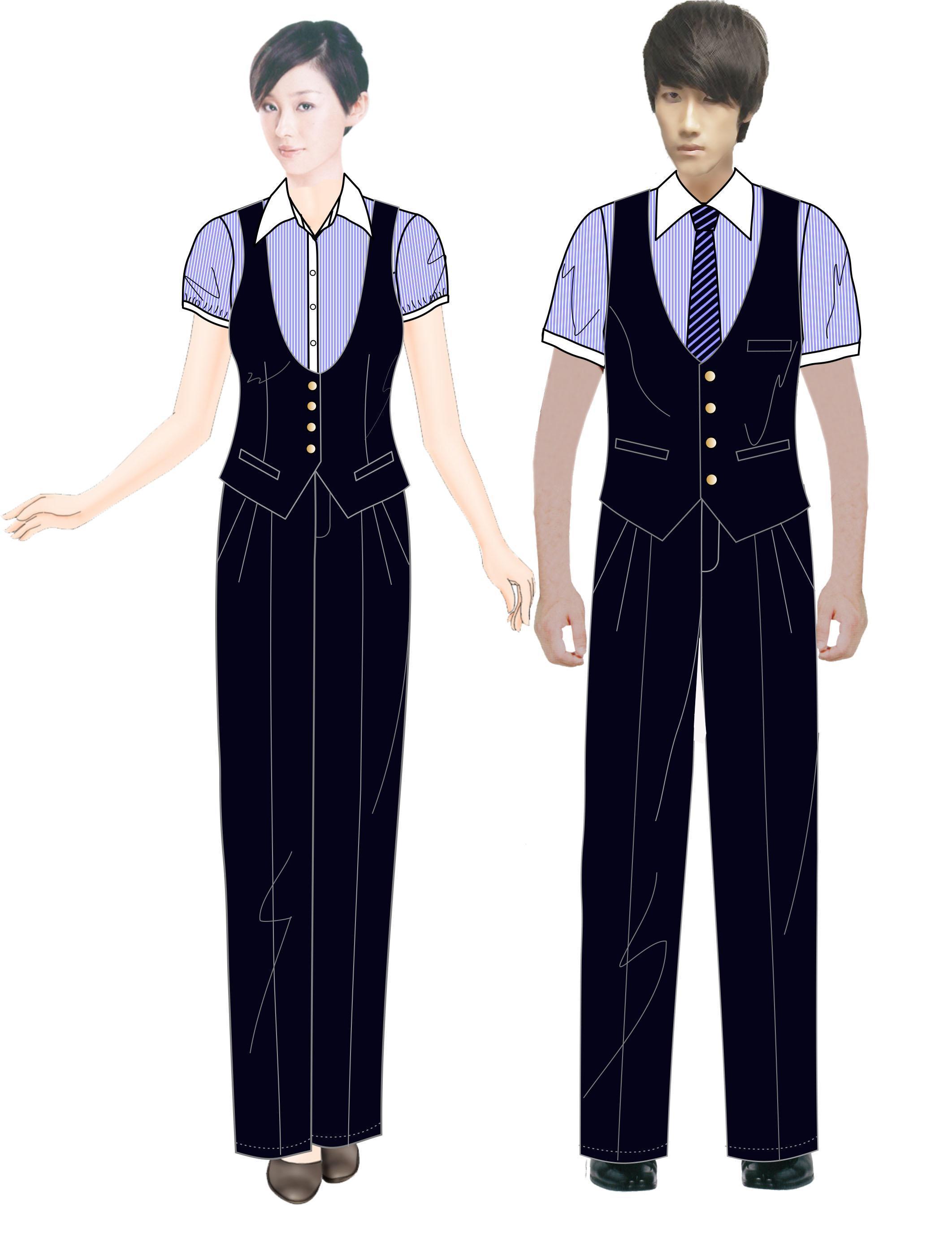套装-职业服装设计-服装设计