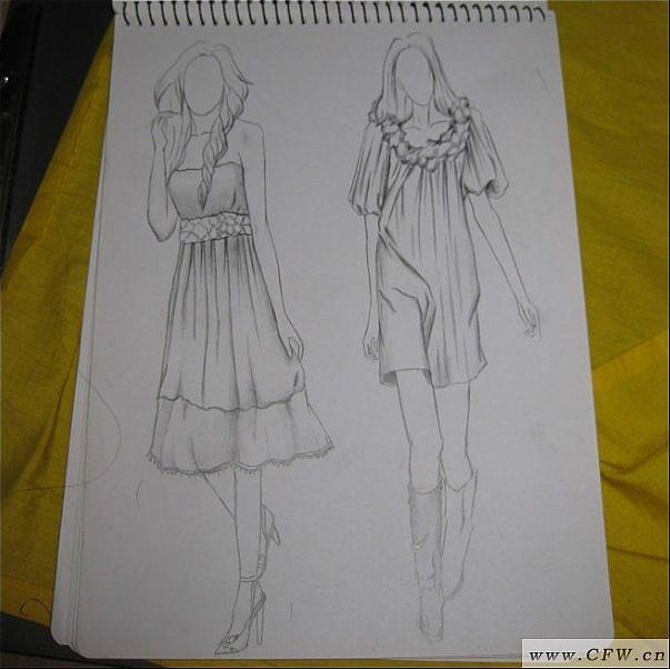 简笔画 手绘 素描 线稿 603_602