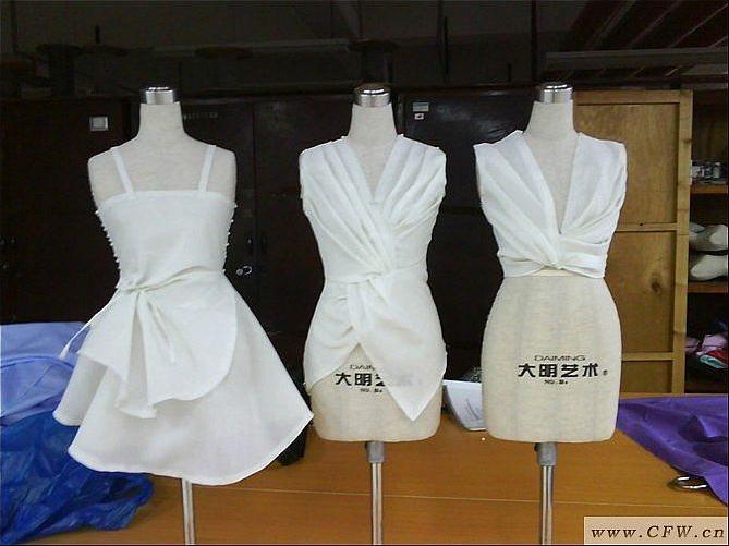 品牌女装_立体裁剪-女装设计-服装设计
