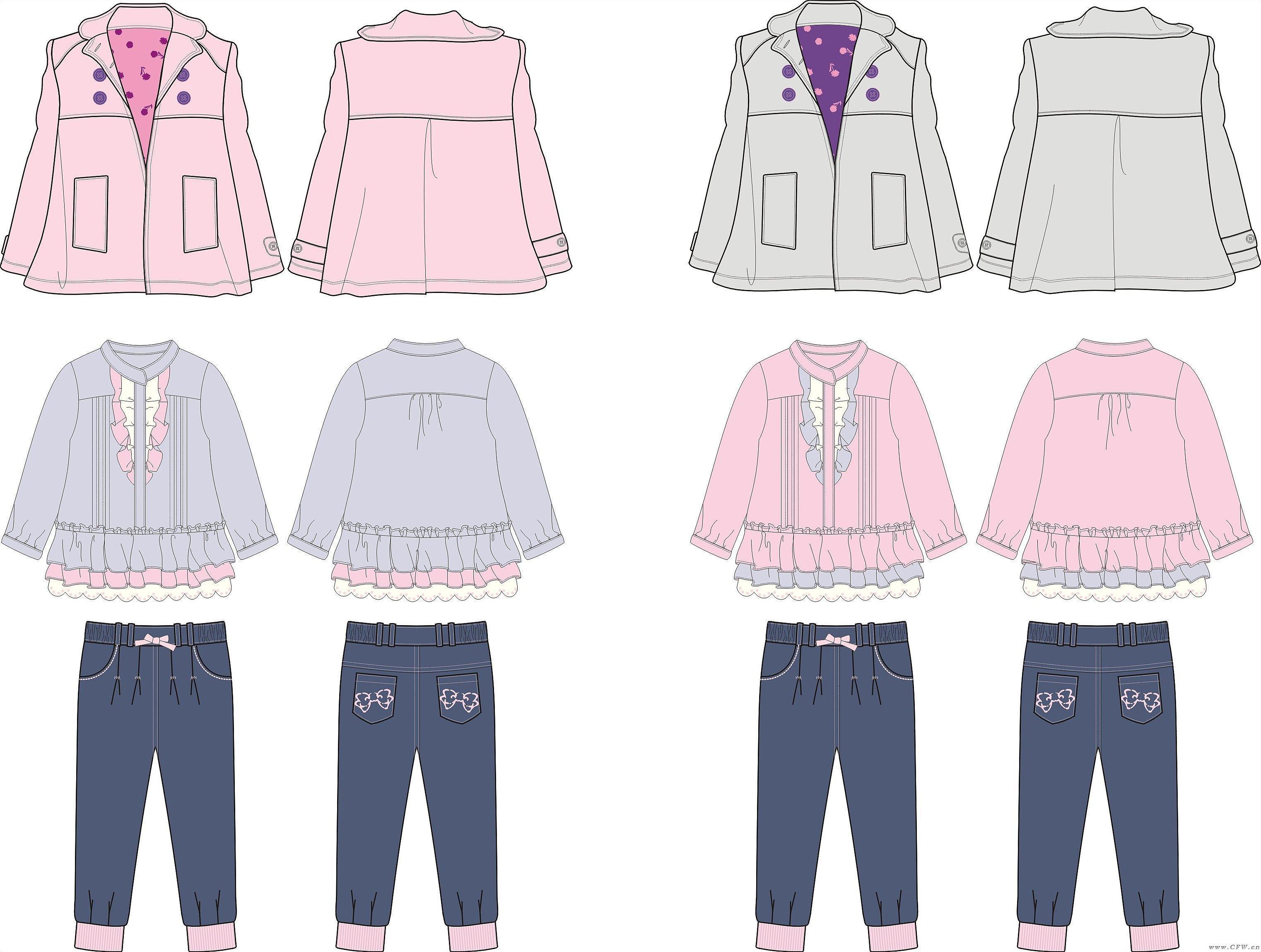 巴黎精灵-童装设计-服装设计