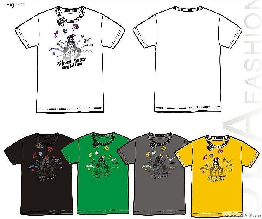男t恤4-男装设计-服装设计