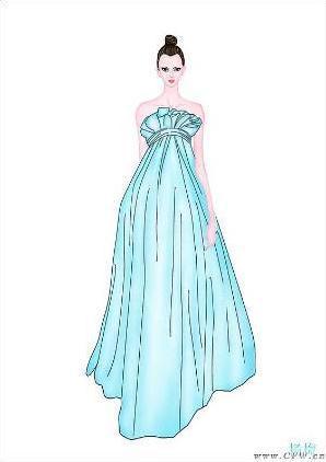 裙子款式图-女装设计-服装设计-服装设计网手机版|触