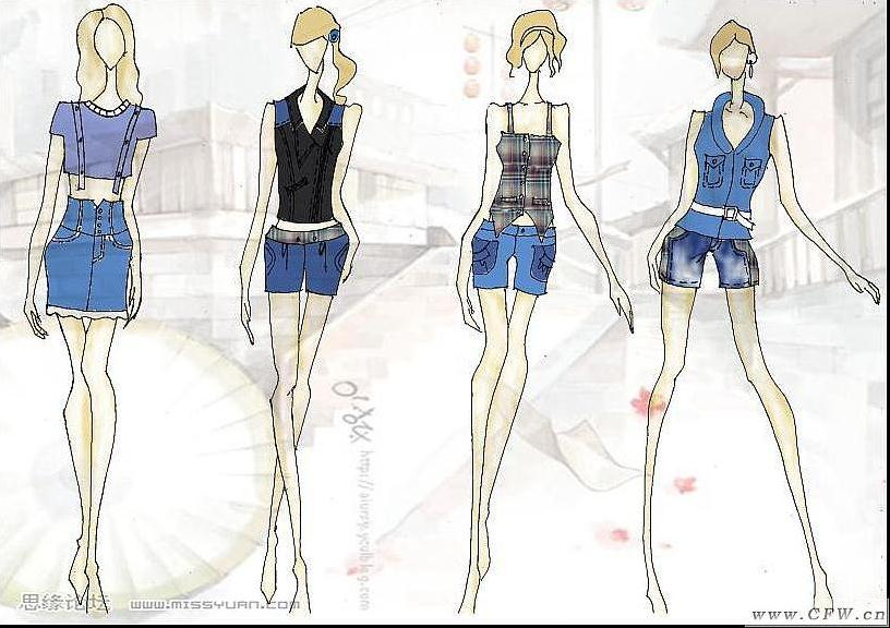 毕业设计-女装设计-服装设计