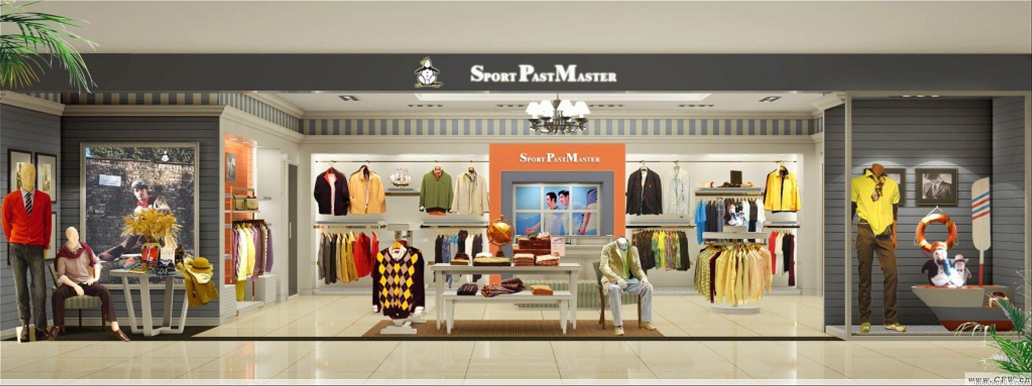 金企鹅虚拟展厅-橱窗陈列设计-服装设计