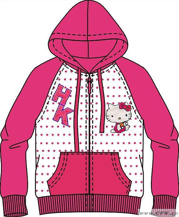外套的叠法图解