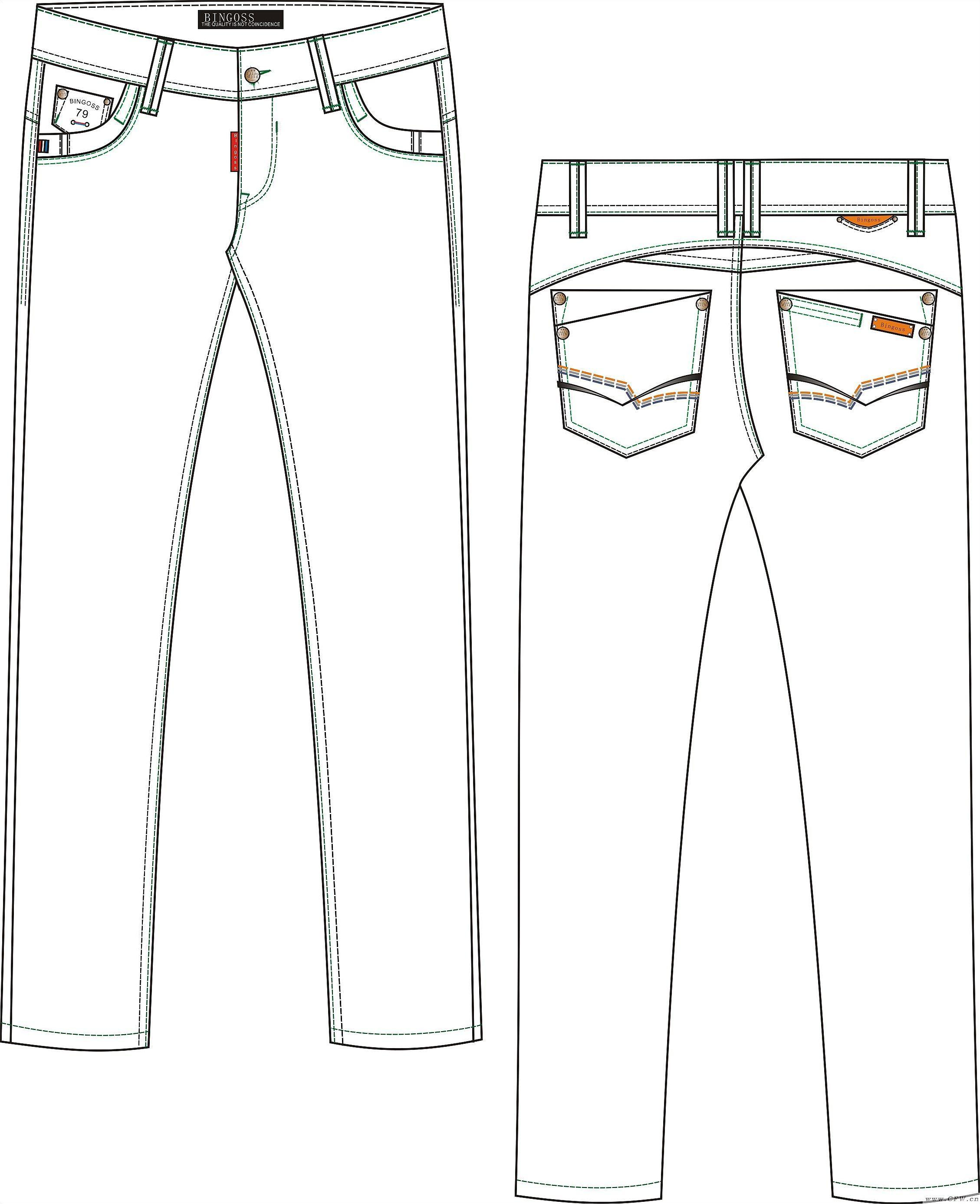 针织内衣品牌_牛仔裤-男装设计-服装设计