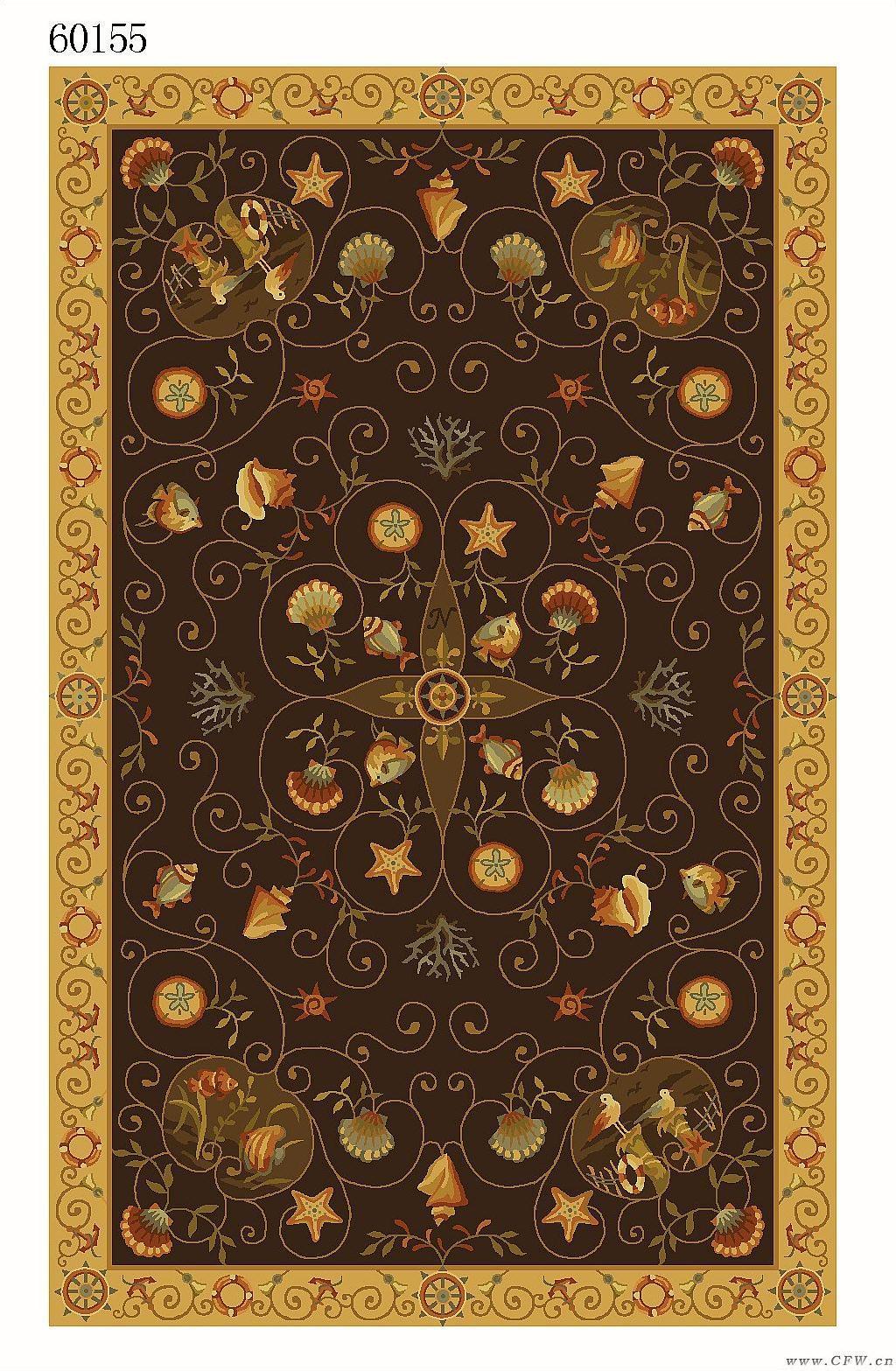 地毯图案作品-图案设计设计-服装设计