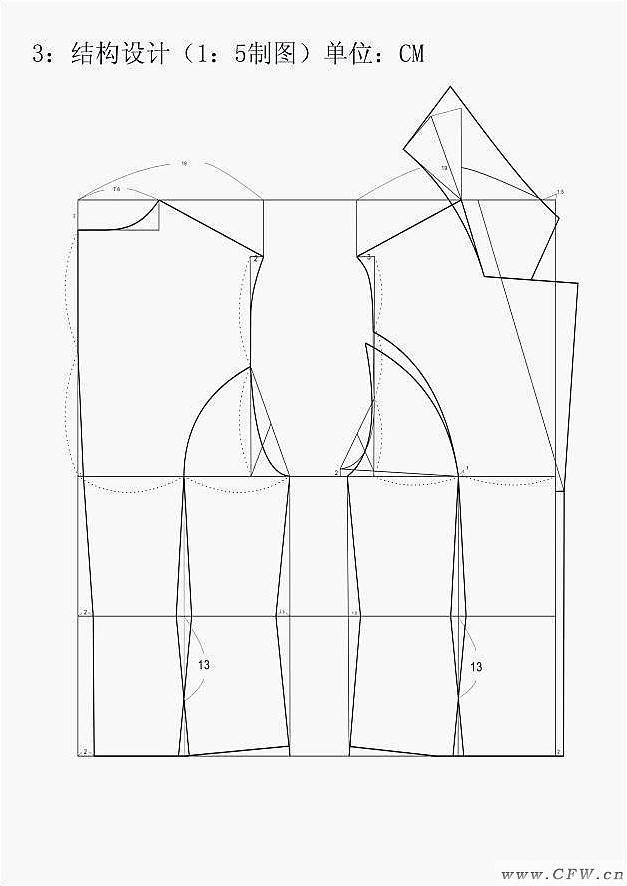 结构设计图作品-结构设计图款式图