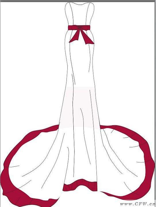 礼服-婚纱礼服设计-服装设计