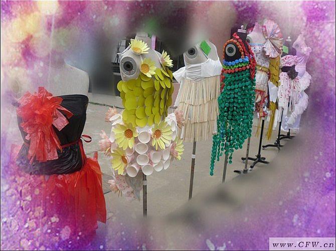 环保服装-女装设计-服装设计图片