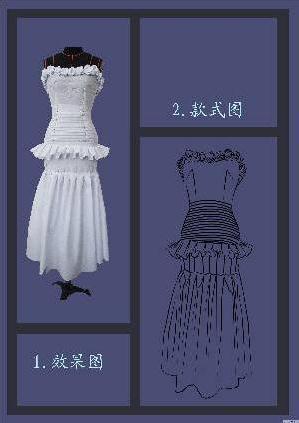 立裁 晚礼服图片
