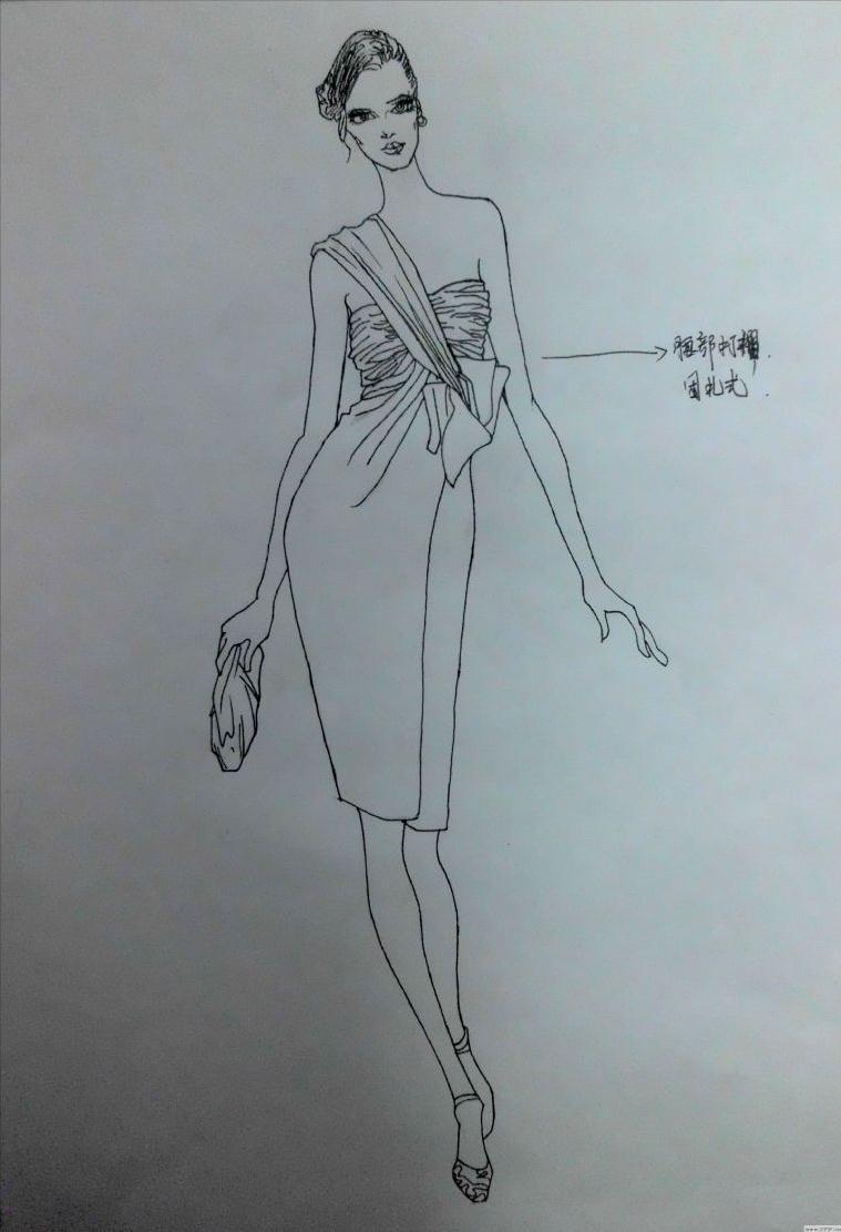 女装设计-婚纱礼服设计-服装设计