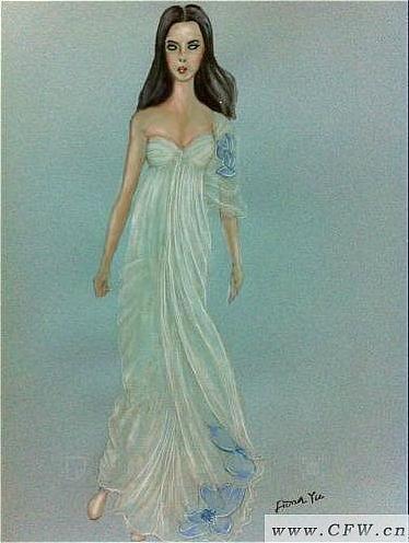 素问-婚纱礼服设计-服装设计