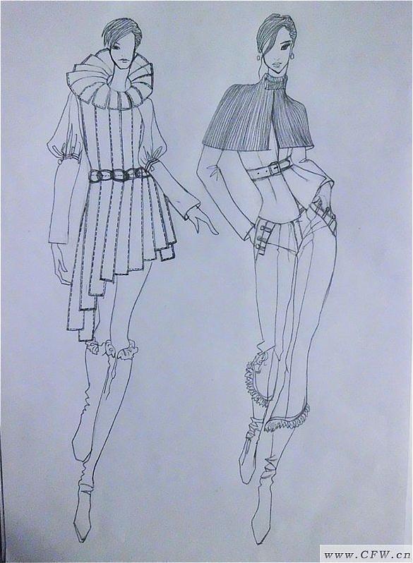 电脑及效果图-女装设计-服装设计