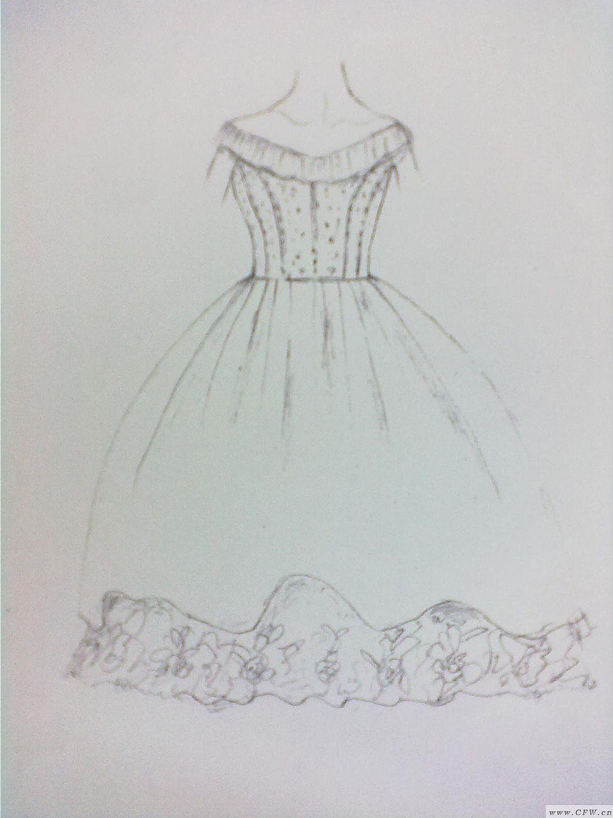 水晶公主-婚纱礼服设计-服装设计