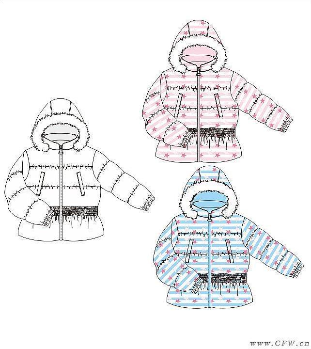儿童棉衣简笔画_声母y棉衣图片简笔画_声母y棉衣图片简笔画画法