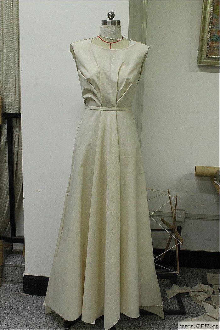 立裁制版-婚纱礼服设计-服装设计
