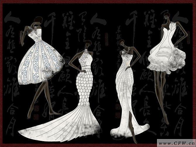 米兰记忆-婚纱礼服设计-服装设计