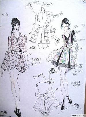 香港天后國際衣服款式圖-女裝設計-服裝設計-服裝設計