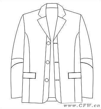 西服-职业服装设计-服装设计