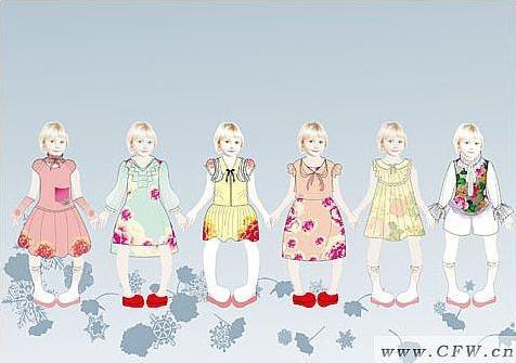 小公主-童装设计-服装设计