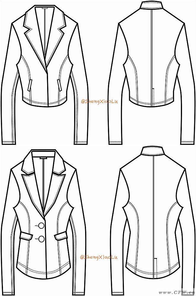 衣服款式图1