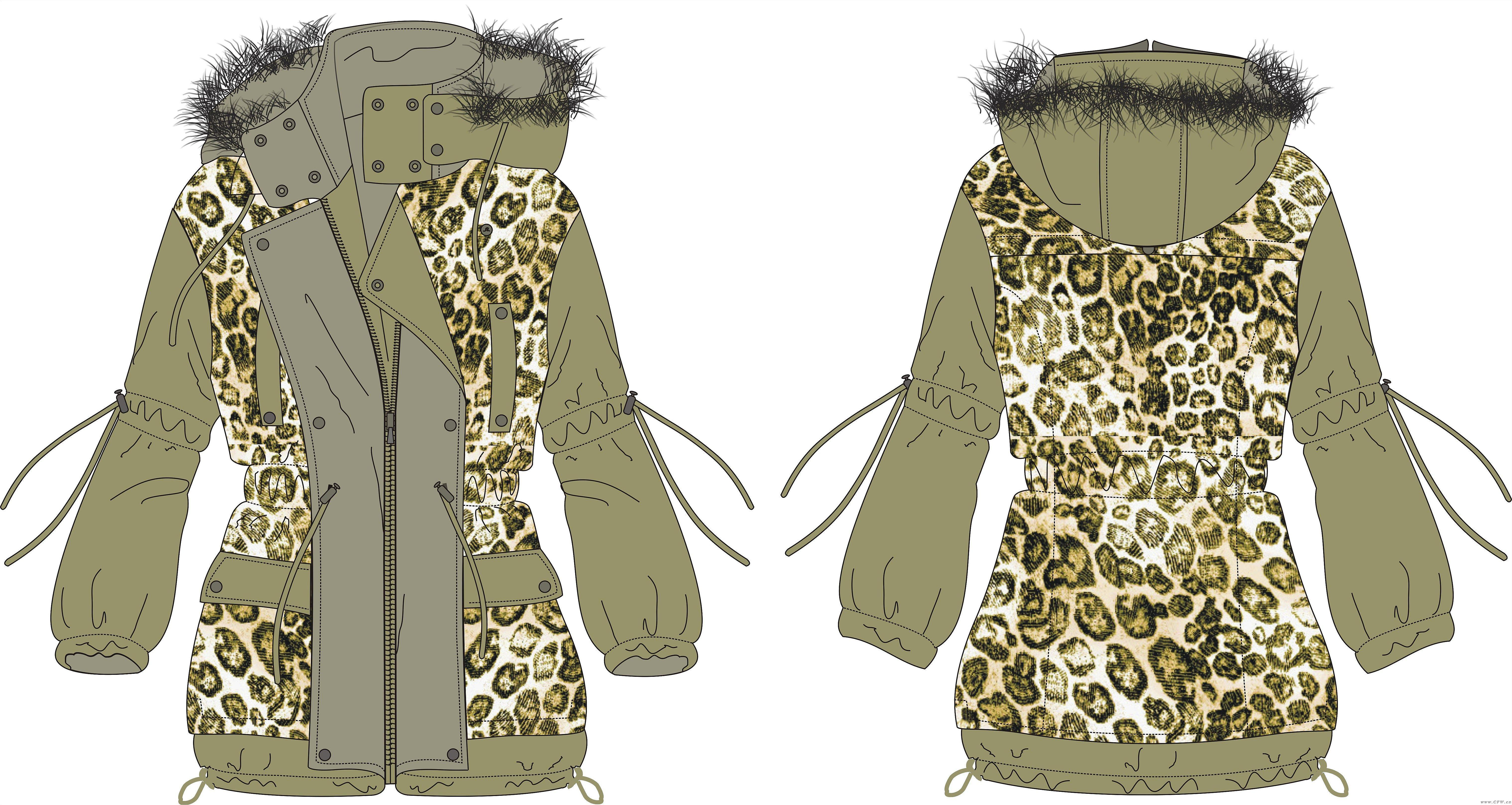 设计稿-女装设计-服装设计