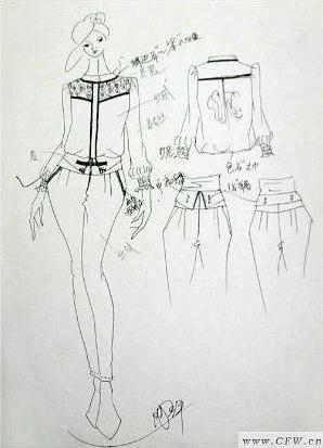 香港天后国际衣服款式图-女装设计-服装设计-服装