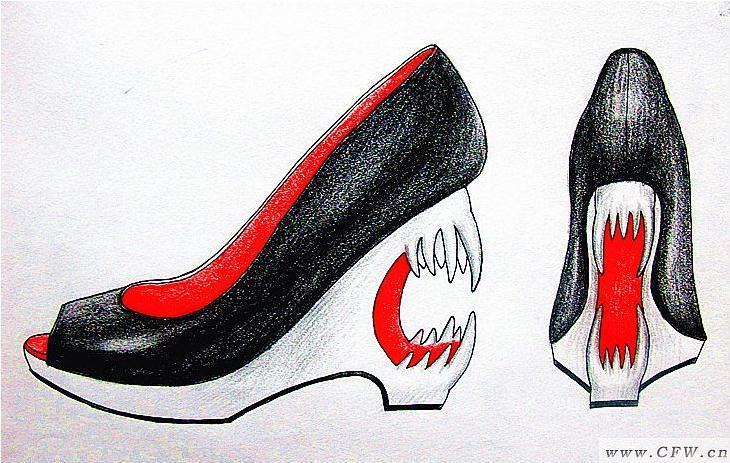 服装陈列设计_创意鞋子设计-鞋帽配饰设计-服装设计