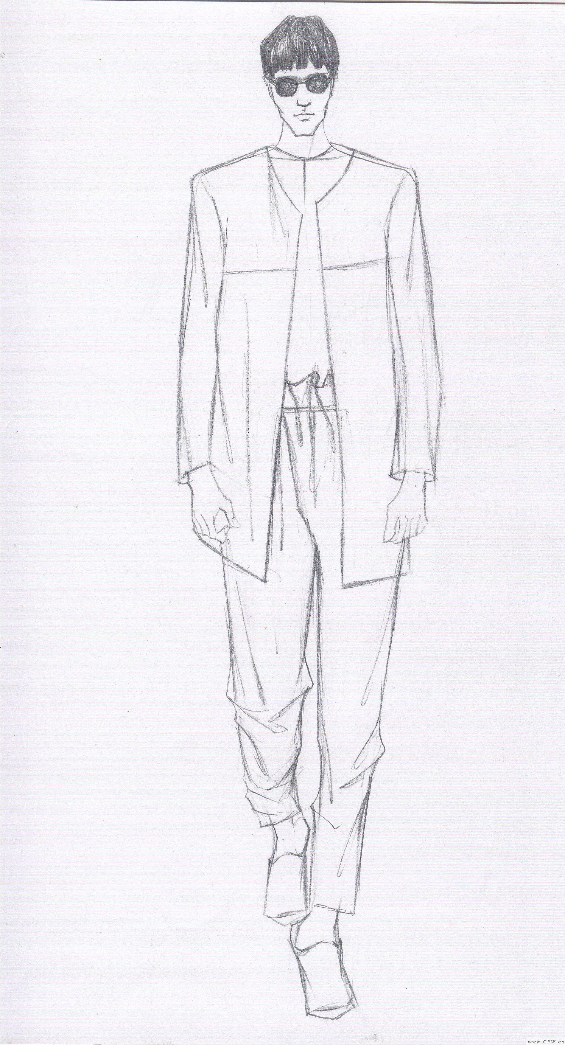 系列男装设计-男装设计-服装设计