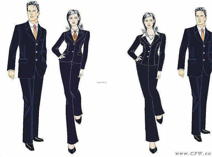 大连艺术学院部分参赛作品-英国绅士-职业服装设计
