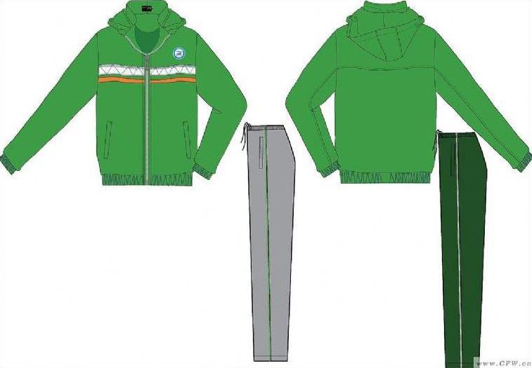 校服设计款式图-男装设计-服装设计