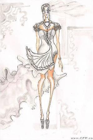 凤体-婚纱礼服设计-服装设计-服装设计网手机版|触屏版