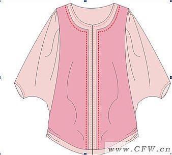 衣服作品-衣服款式图