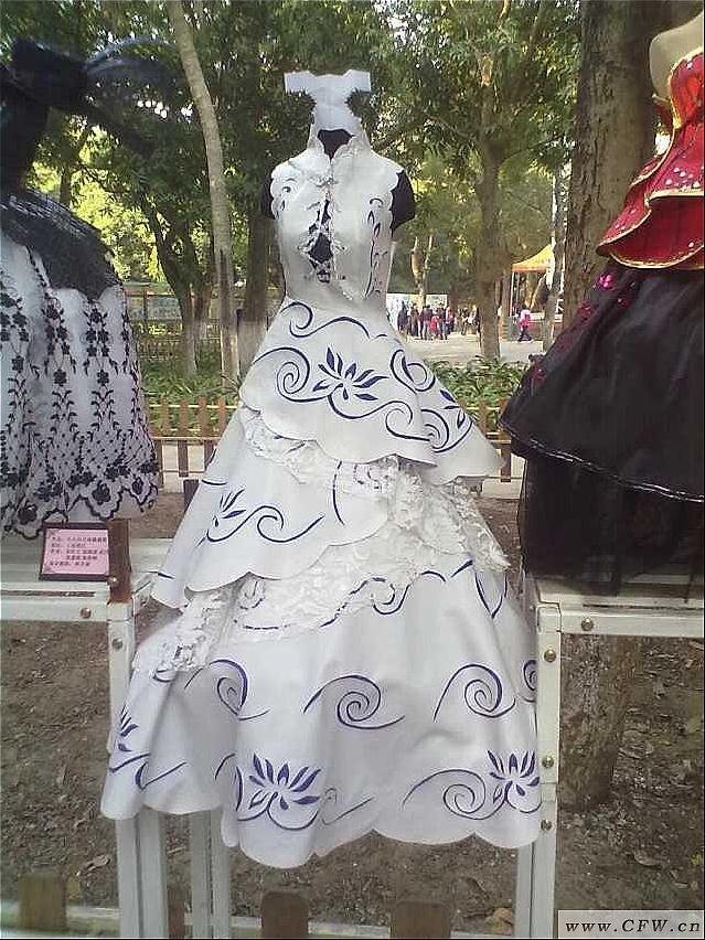 小人台比赛-婚纱礼服设计-服装设计